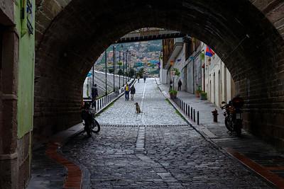 Calle La Ronda, Old Town, Quito