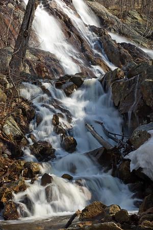 Lusk Falls in spring runoff (MURR8366)