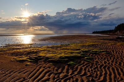 Sunset over the Sandbars