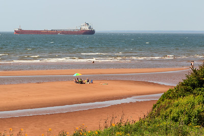Ship off McCallum's Point, PEI