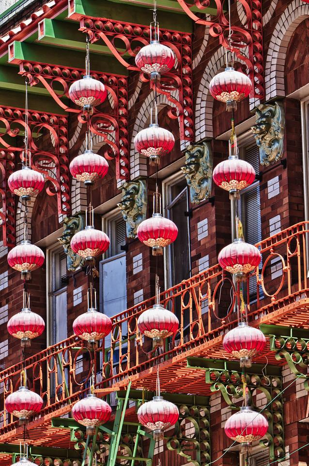 Lanterns Chinatown San Francisco