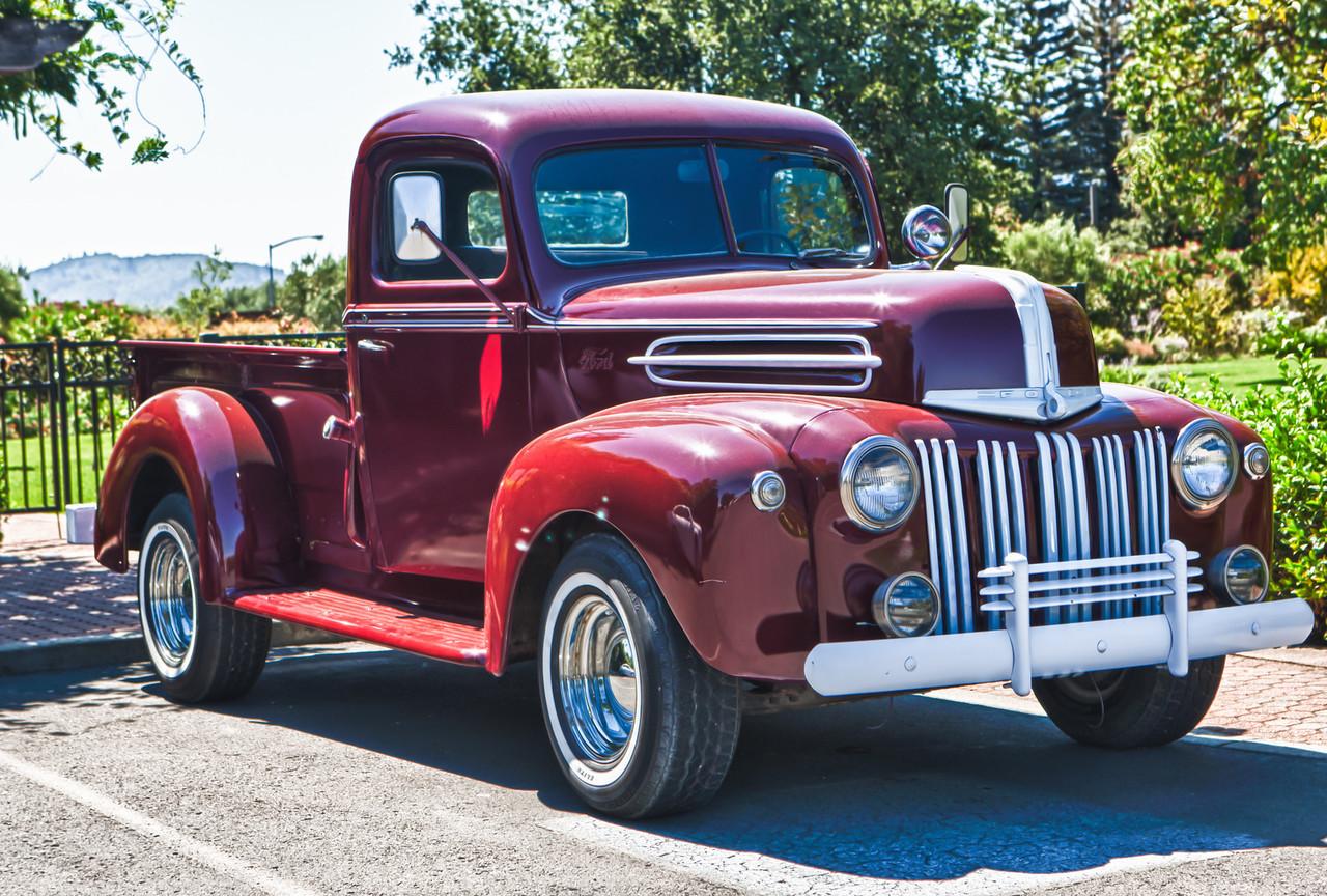 Winery Farm Truck