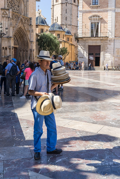 Valencia, Hat vendor