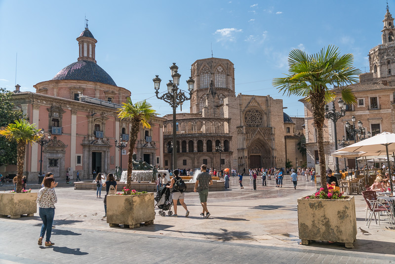 Valencai, Plaza de la Virgen