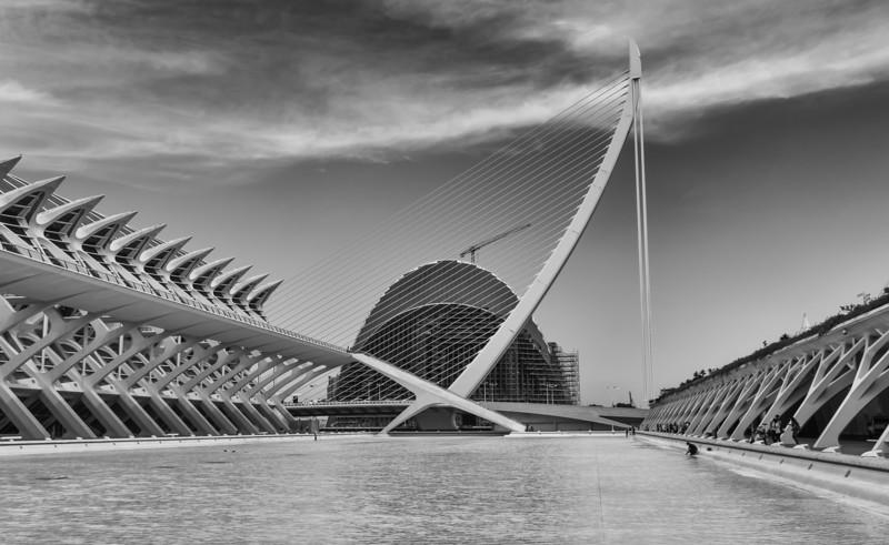 Valencia, City of Arts and Sciences, Museu de les Ciències Príncipe Felipe, L'Agora, L'Umbracle