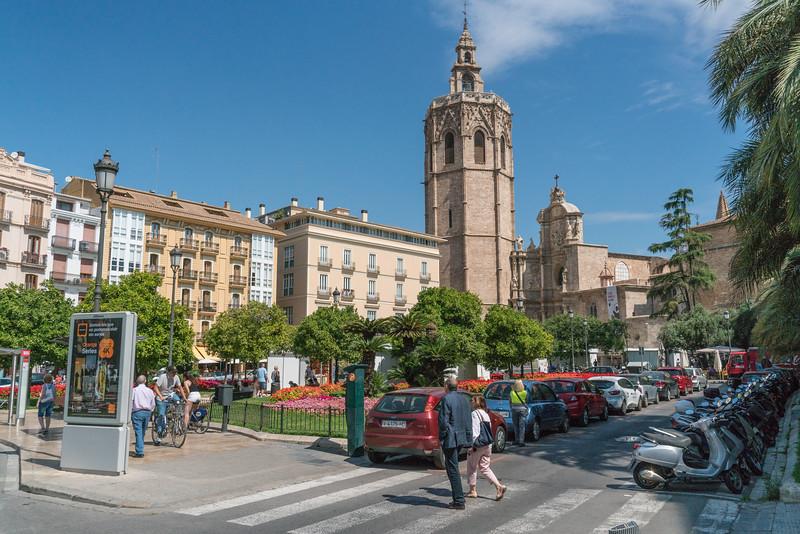 Valencia, Plaza de la Reina