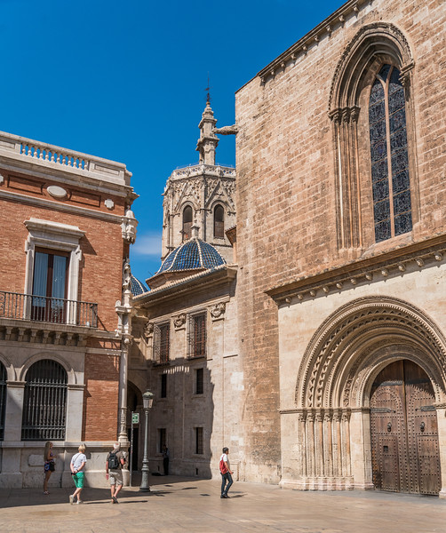 Valencia Cathedral and Miguelete bell tower