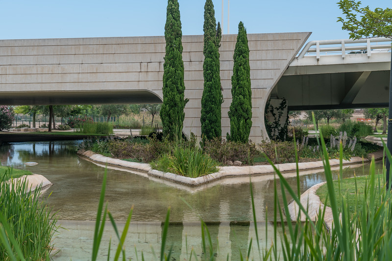 Valencia, former riverbed of the river Turia
