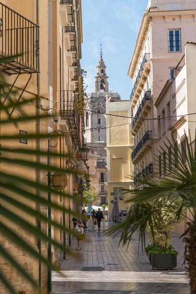 Valencia, Bascillica in dstance