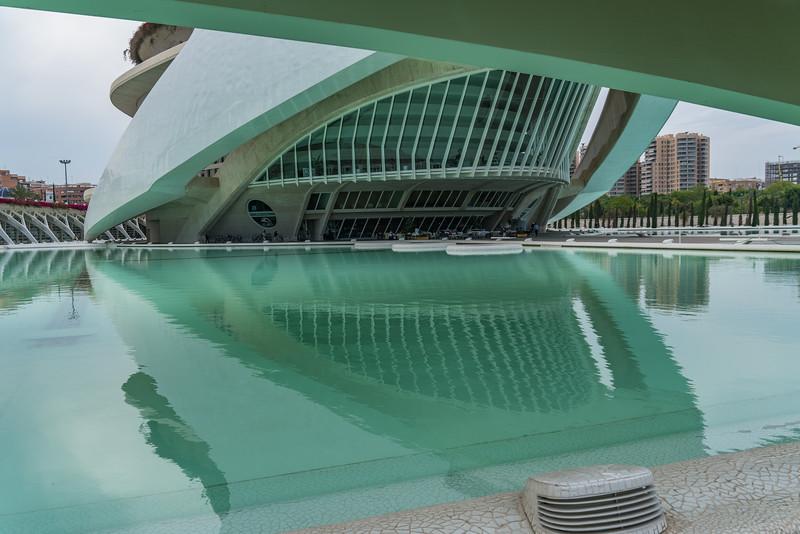 Valencia, El Palau de les Arts Reina Sofía