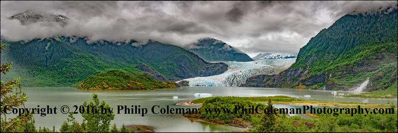 Mendenhall Glacier Panorama