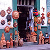 Pottery shop, Oaxaca, Mexico