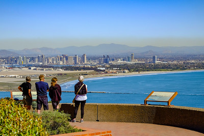 View of San Diego from Babrillo National Monument