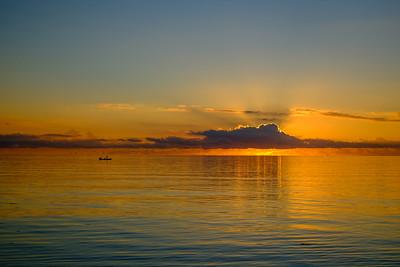 Sunrise over Miami Beach