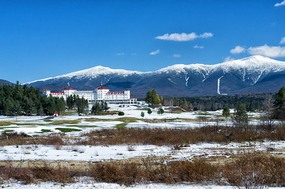 Mount Washington Hotel and Mount Washington