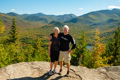 Di and Murray on Round Mountain