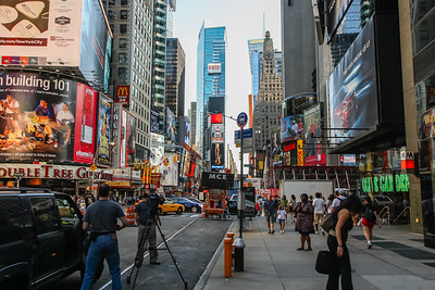 Chaos of Times Square