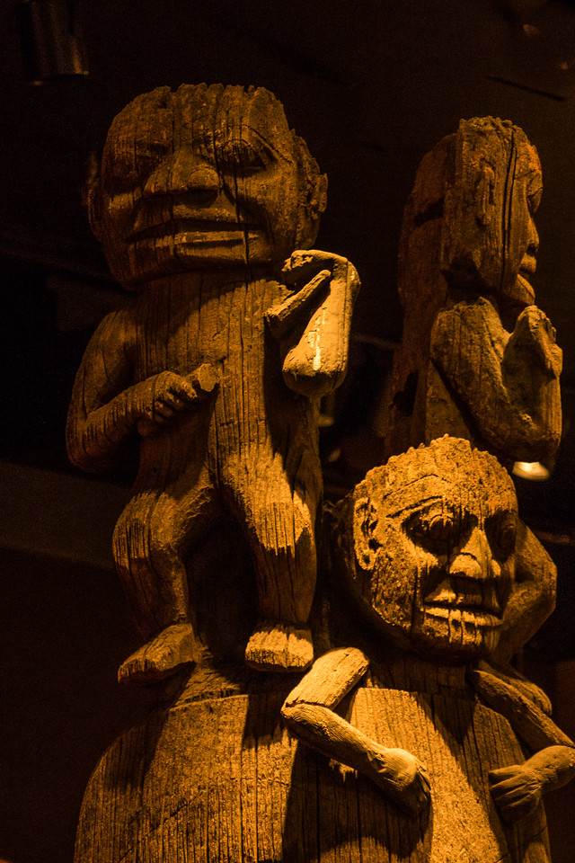 Royal BC Museum, First Peoples Exhibit