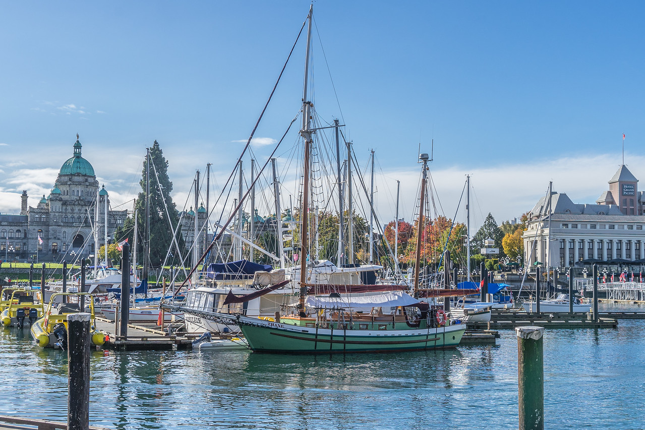 Inner harbor, Victoria, BC