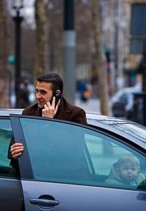 Dad in Paris