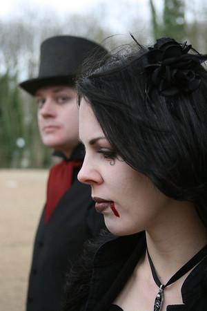 2009 02 22 Velveteen at Nunhead Cemetery