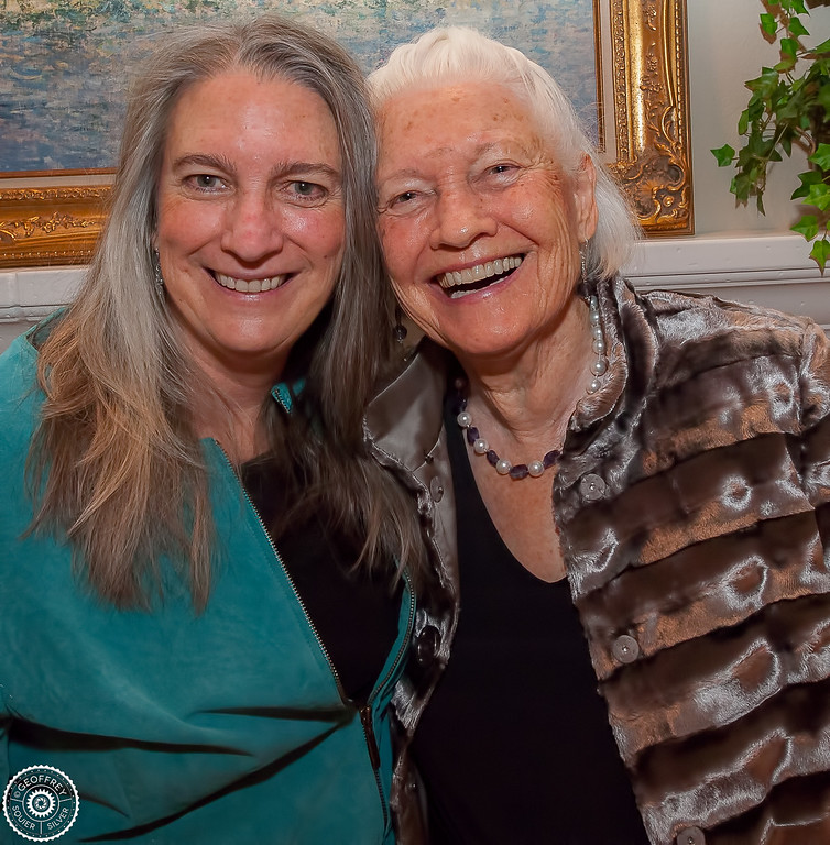 Sallie and June Edmunds © Geoffrey Squier Silver, All Rights Reserved.