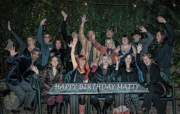 Harvey Closing, Matty's Birthday, Kris and the Hurt
