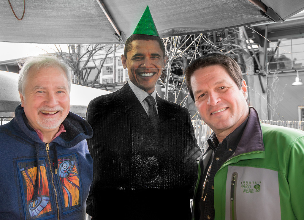 Ed and the President