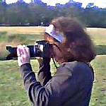 This is the only picture I have of me taking a photo, that is fairly close. My husband took this one on his old crappy phone so it is very low quality.  A better bio photo is soon to come!