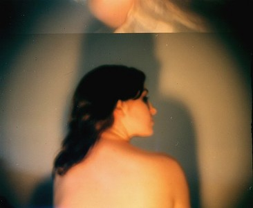 Model: Morgan, shot with broken Holga