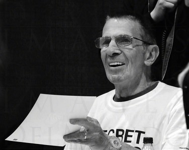 Leonard Nimoy (Mr. Spock) at the Calgary Entertainment Expo