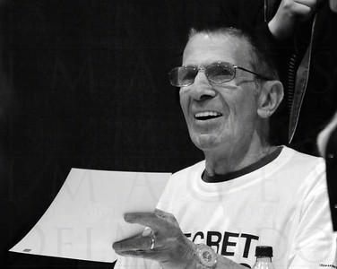 Leonard Nimoy (Mr. Spock) at the Calgary Entertainment Expo