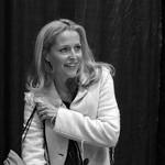 Gillian Anderson at the Calgary Entertainment Expo 2013