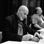 X-Files actor Mitch Pileggi at the Calgary Entertainment Expo 2013