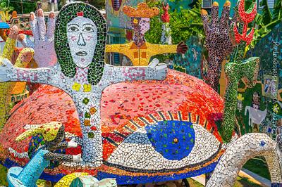José Fuster Mosaics