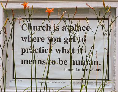 Church is A Place . . .