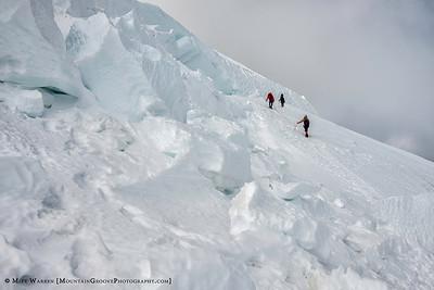 14,000' on Mt Rainier, MRNP