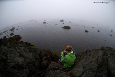 Proof the World is Round, Olympic Coast, Olympic NP, WA