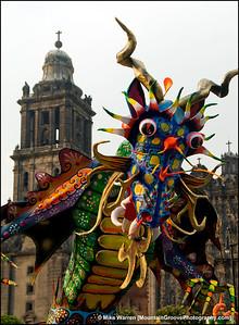 Dragon, Dia de los Muertos [Day of the Dead], Mexico City