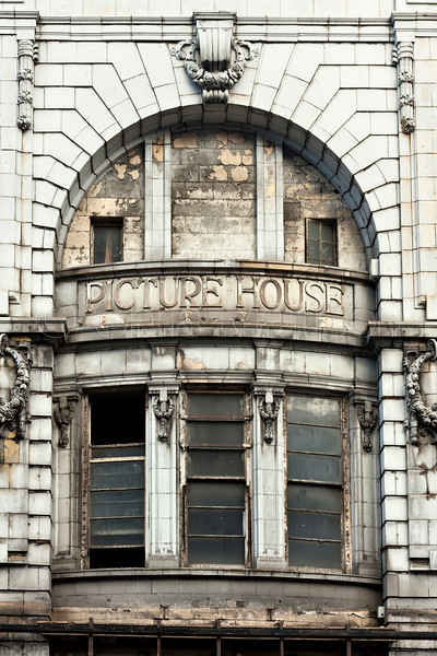 Derelict picture house, Liverpool