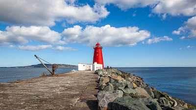 Poolbeg Lighthouse, Dublin
