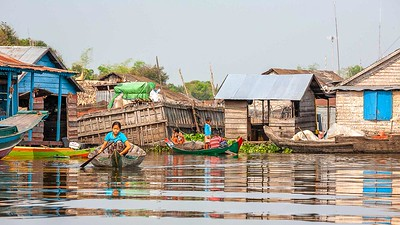 On Lake Nokoue in Benin