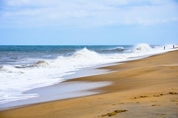 Rehoboth Beach surf post hurricane Arthur 2014