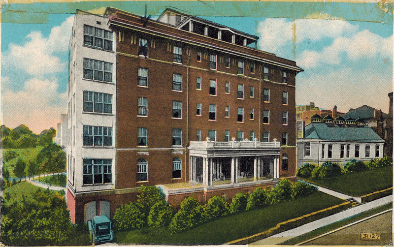 Hirsch Hall Post Card