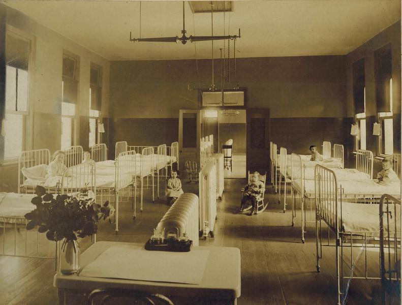 Pediatric Ward in Original Grady Hospital