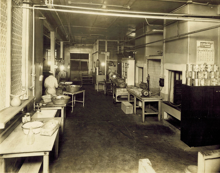 Kitchen in Original Grady Hospital