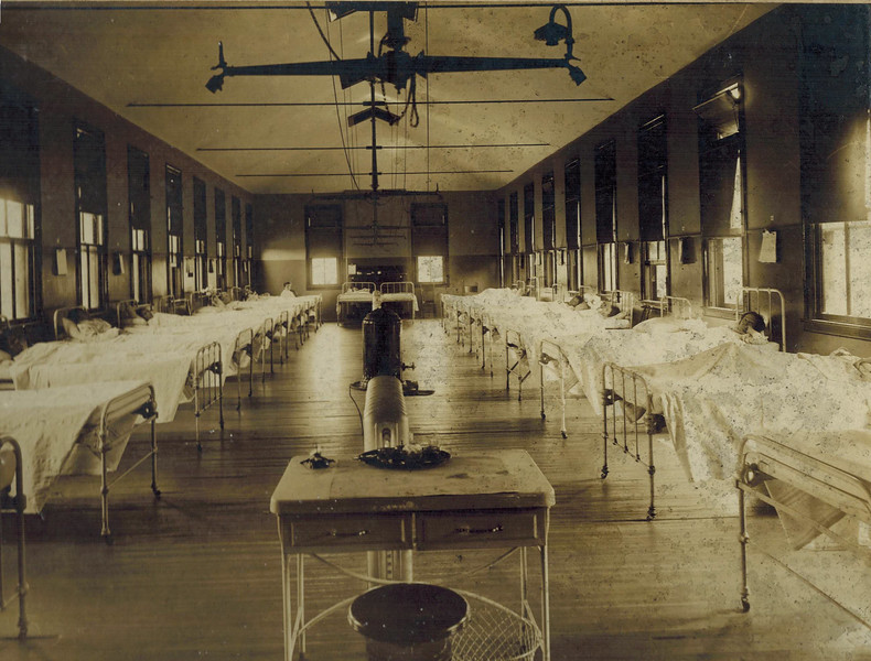 Women's Ward at Original Grady Hospital