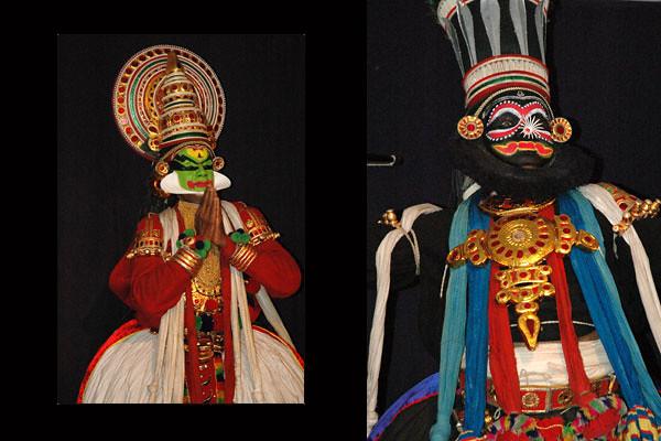 Kathakali Dancers<br /> Fort Kochi, Kerala