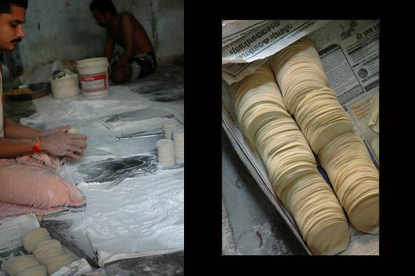 Papad Maker<br /> Cochin, Kerala