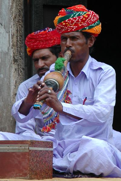Flute Player<br /> Udaipur, Rasjasthan